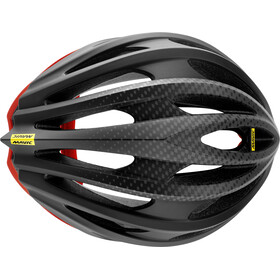 Mavic Cosmic Pro Helmet Herren black/fiery red